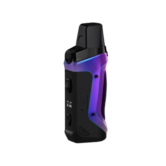 UK supplier Geekvape Aegis Boost 40W Pod Mod Kit 1500mAh Color: Aura Glow | Type: 2ml TPD Edition