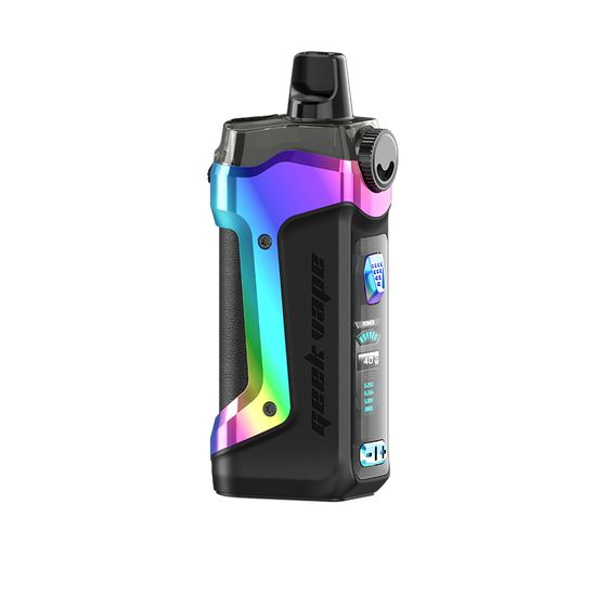 authentic Geekvape Aegis Boost Plus 40W 3-in-1 Pod Kit Color: Aura Glow | Type: 2ml TPD Edition