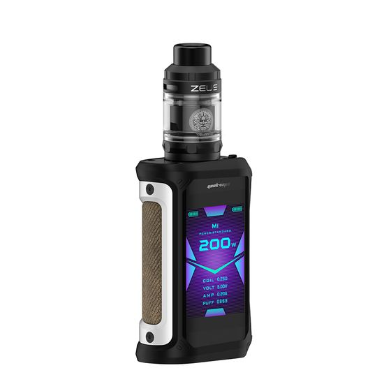 for wholesale Geekvape Aegis X 200W TC Kit with Zeus Tank Color: Classic Silver | Type: TPD Edition