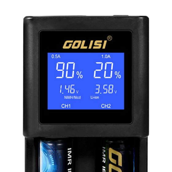 wholesale Golisi S2 2.0A Smart Charger with LCD Screen