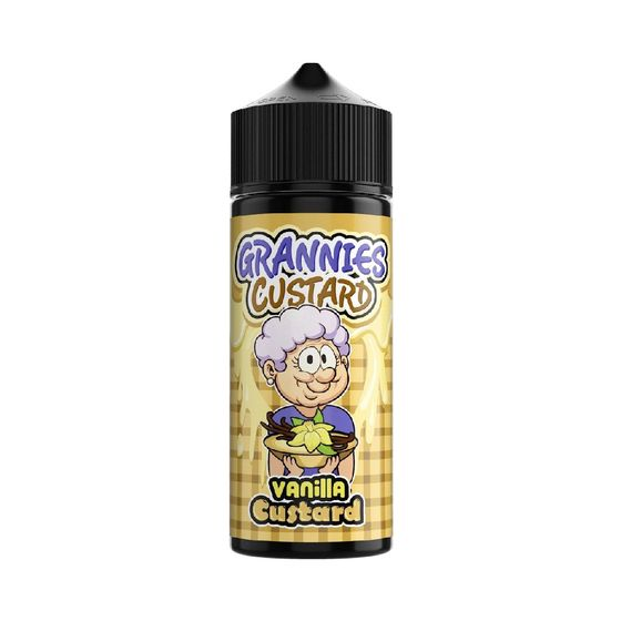 Grannies Custard Shortfill 100ml Flavor: Vanilla Custard wholesale price