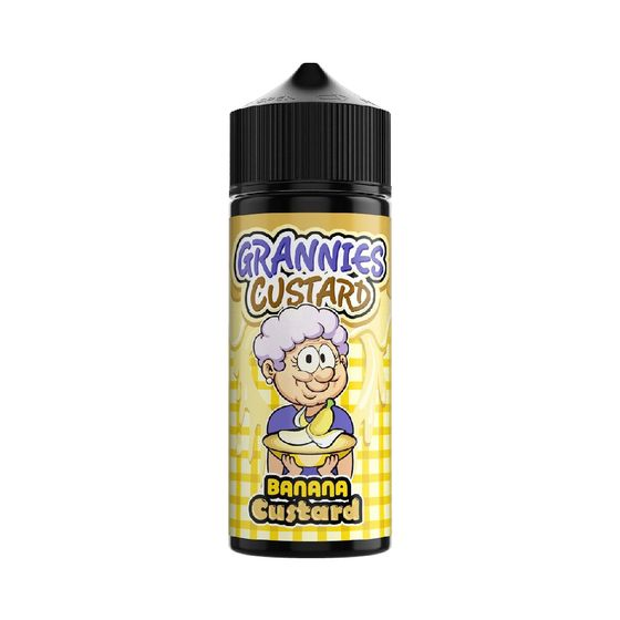 Grannies Custard Shortfill 100ml Flavor: Banana Custard for wholesale
