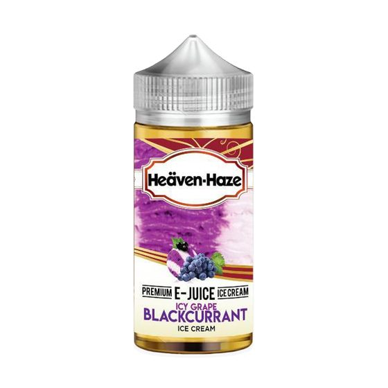 wholesale price Heaven Haze 100ml Shortfill Flavor: Icy Grape Blackcurrant | Strength: 0mg/ml