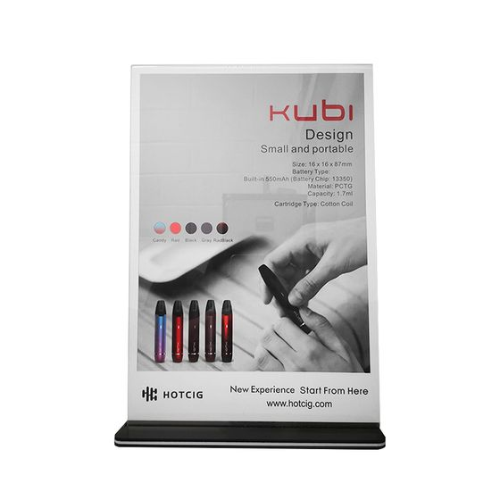 Hotcig Kubi Pod Kit Acrylic Poster for wholesale