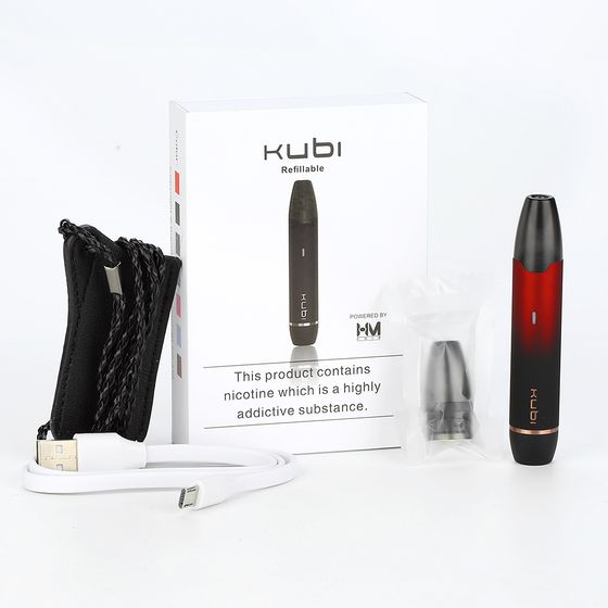 Hotcig Kubi Refillable Pod Starter Kit 550mAh shop
