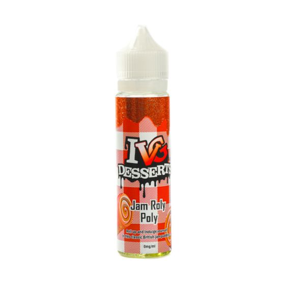 IVG Desserts 50ml Shortfill Flavor: Jam Roly Poly | Strength: 0mg/ml wholesale price