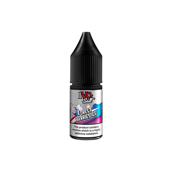 IVG Nic Salts 10ml Strength: 10mg/ml | Flavor: Forrest Berries Ice UK wholesale