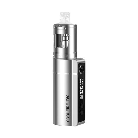 UK shop Innokin Coolfire Z50 VW Kit With Zlide Tube Tank Type: TPD Edition | Color: Silver