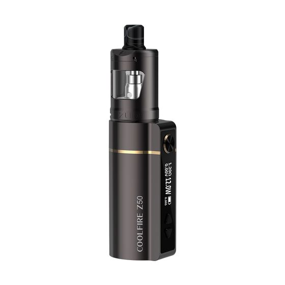 UK store Innokin Coolfire Z50 VW Kit With Zlide Tube Tank Type: TPD Edition | Color: Gunmetal