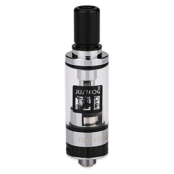 authentic JUSTFOG Q16 Clearomizer 1.9ml Color: SS