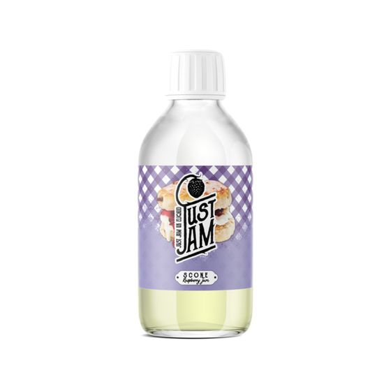 authentic Just Jam Shortfill 200ml Flavor: Scone | Strength: 0mg/ml