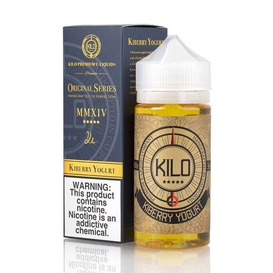 for wholesale Kilo Original Series 100ml Shortfill Flavor: Kiberry Yogurt | Strength: 0mg/ml