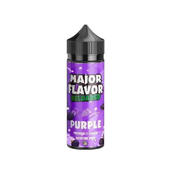 cheap Major Flavor Reloaded Shortfill 100ml Flavor: Purple