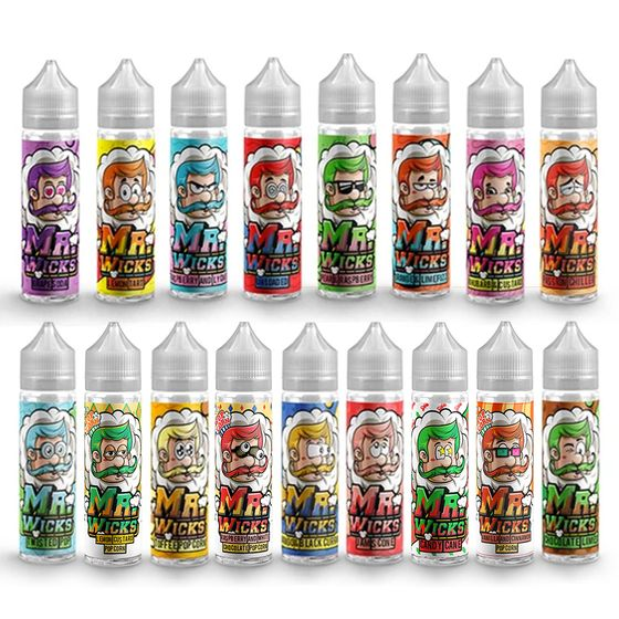 Mr Wicks(Momo eliquid) Shortfill 50ml UK shop