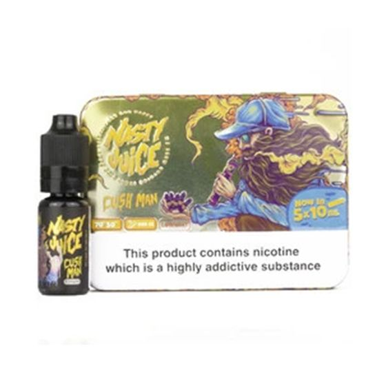 authentic Nasty Juice 5x10ml E-liquid Flavor: Fat Boy | Strength: 3mg/ml