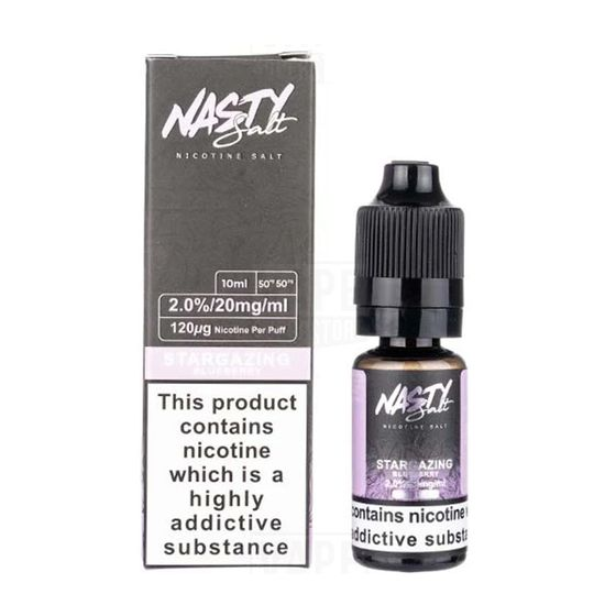 authentic Nasty Nic Salts 10ml Flavor: Star Gazing | Strength: 20mg/ml