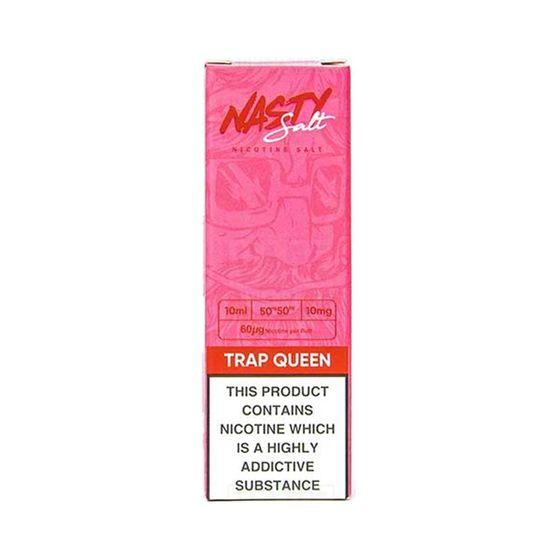 Nasty Nic Salts 10ml Flavor: Trap Queen | Strength: 10mg/ml UK store