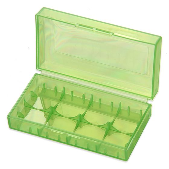 authentic Plastic Storage Case for 18650 Battery