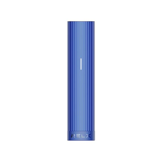 authentic RELX Essential Battery Device Color: Blue