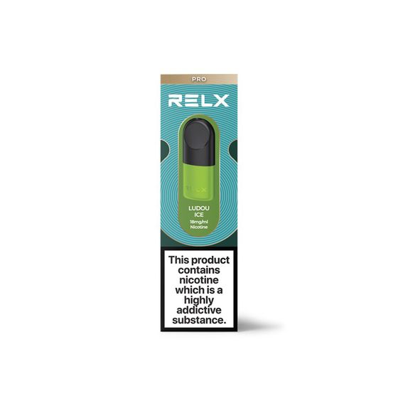 RELX Essential Infinity Pro Pre-filled Pods 18mg 2ml 2pcs UK store