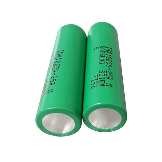 low price SAMSUNG INR18650-25RM High-drain Li-ion Battery 20A 2500mAh
