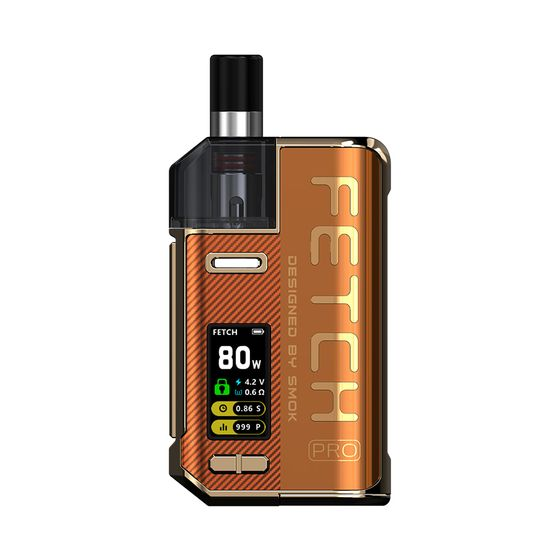 UK shop SMOK Fetch Pro 80W VW Pod Kit Color: Orange | Type: 2ml EU Edition