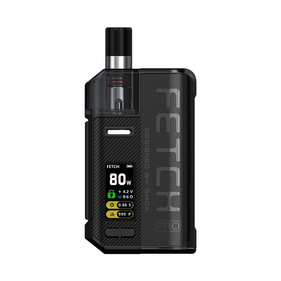 SMOK Fetch Pro 80W VW Pod Kit Color: Black | Type: 2ml EU Edition wholesale