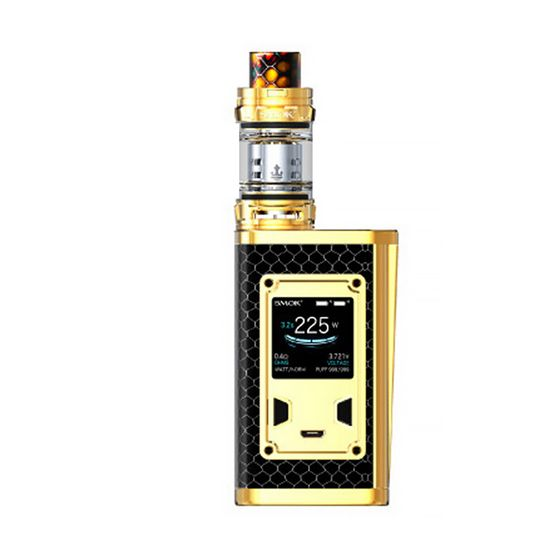 SMOK Majesty 225W TC Kit with TFV12 Prince Luxe Edition Color: Prism Gold | Type: Black Cobra TPD Version UK wholesale