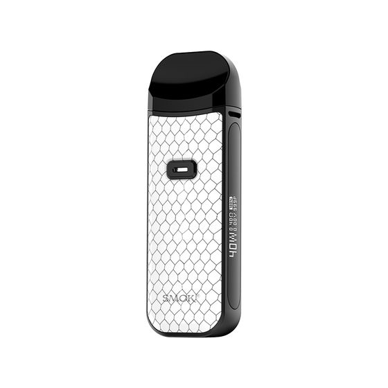 authentic SMOK Nord 2 40W Pod Starter Kit 1500mAh Type: 2ml EU Edition | Color: White Cobra