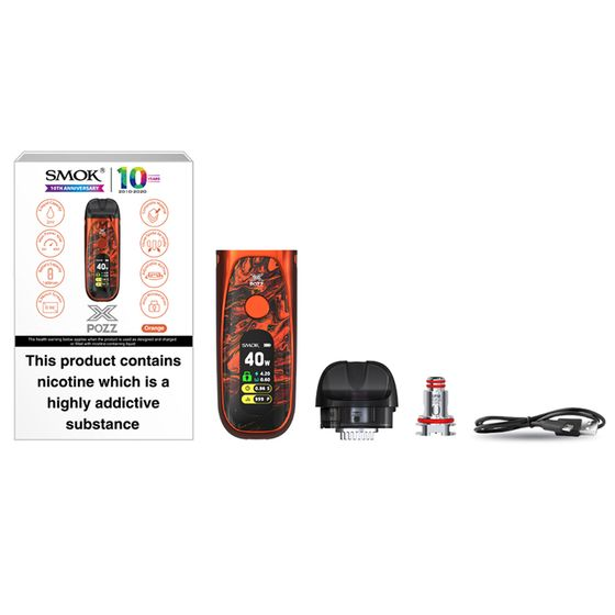 SMOK POZZ X 40W Pod Starter Kit 1400mAh UK shop