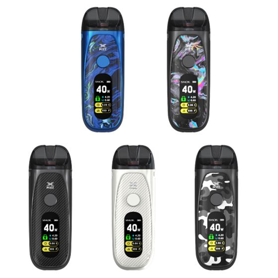 SMOK POZZ X 40W Pod Starter Kit 1400mAh UK wholesale