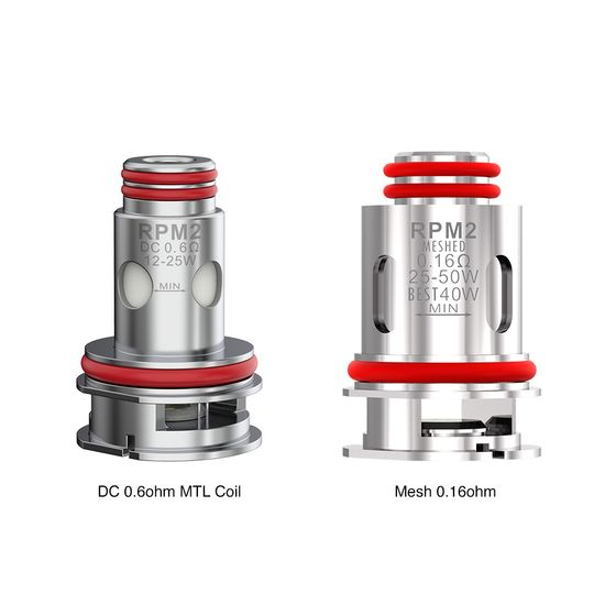 SMOK RPM 2 Replacement Coil 5pcs UK wholesale