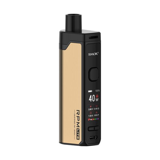 SMOK RPM Lite 40W Stater Kit 1250mAh Color: Gold | Type: 2ml EU Edition UK supplier