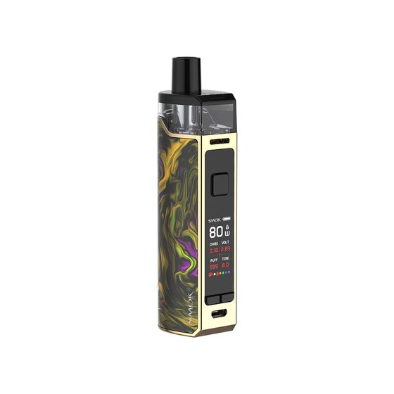 for wholesale SMOK RPM80 Pod Mod Kit 3000mAh Color: Fluid Gold | Type: 2ml EU Edition