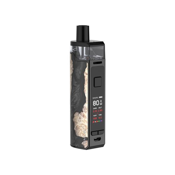 SMOK RPM80 Pod Mod Kit 3000mAh Color: Black Stabilizing Wood | Type: 2ml EU Edition wholesale price