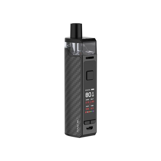 UK shop SMOK RPM80 Pod Mod Kit 3000mAh Color: Black Carbon Fiber | Type: 2ml EU Edition
