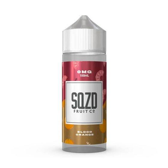 wholesale price SQZD E-Liquid 100ml Flavor: Blood Orange | Strength: 0mg/ml
