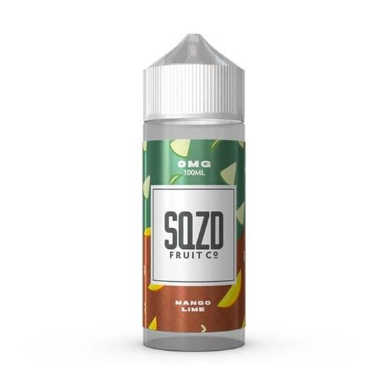 SQZD E-Liquid 100ml Flavor: Mango Lime | Strength: 0mg/ml UK store