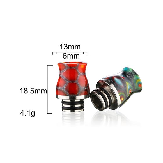 authentic Sailing SS Epoxy Resin 510 Drip Tip SL228