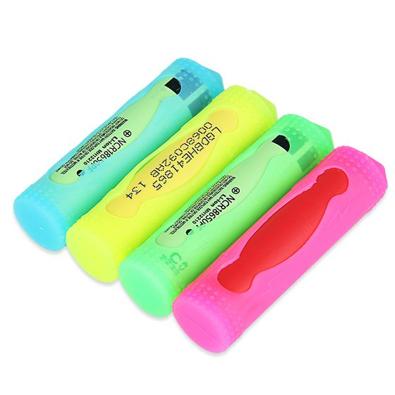 wholesale price Silicone Case for 18650 Battery