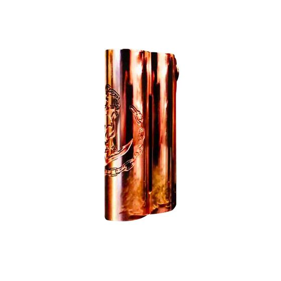 UK shop Squid Industries Double Barrel V3 150W VW MOD Color: Copper | Type: CNC Edition