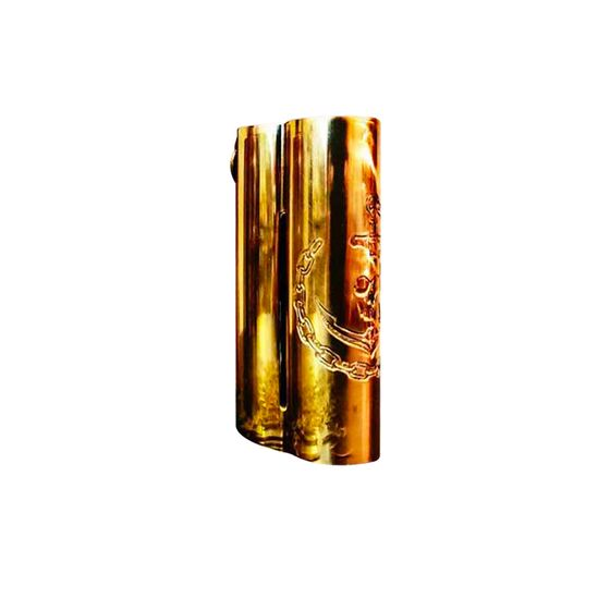 Squid Industries Double Barrel V3 150W VW MOD Color: Brass | Type: CNC Edition authentic