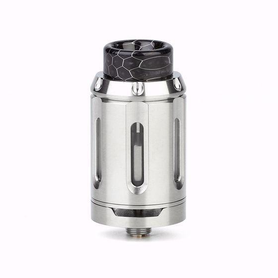 UK shop Squid Industries PeaceMaker RTA 4ml Color: Stainless
