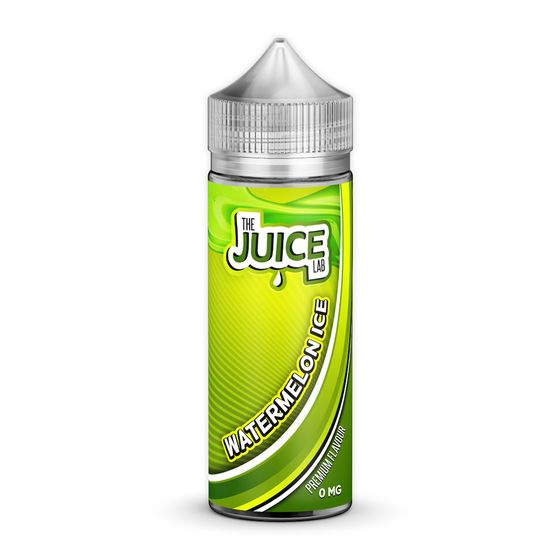 The Juice Lab Shortfill 120ml Flavor: Watermelon Ice | Strength: 0mg/ml UK store
