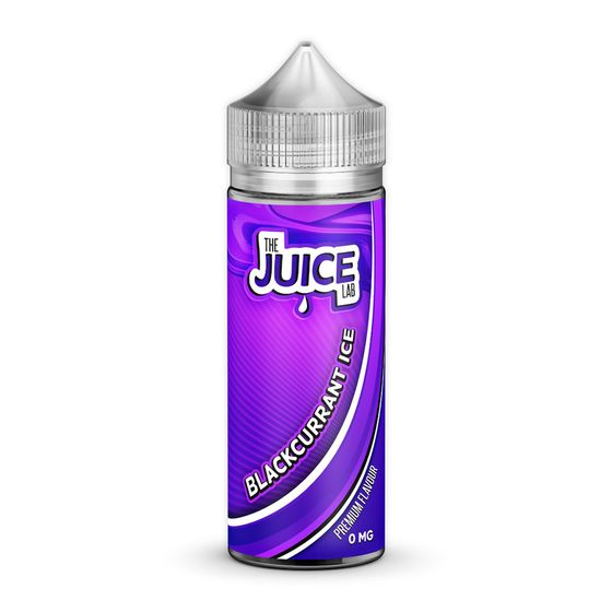The Juice Lab Shortfill 120ml Flavor: Blackcurrant Ice | Strength: 0mg/ml wholesale