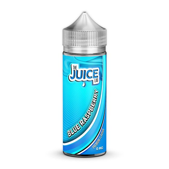 The Juice Lab Shortfill 120ml Flavor: Blue Raspberry | Strength: 0mg/ml for wholesale