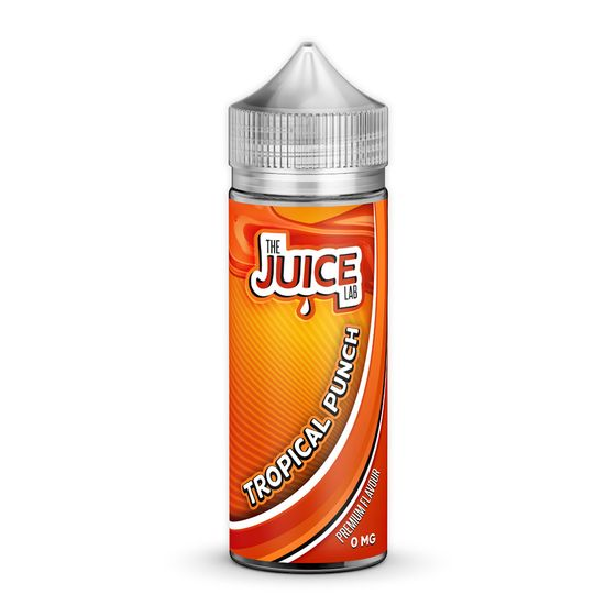 cheap The Juice Lab Shortfill 120ml Flavor: Tropical Punch | Strength: 0mg/ml