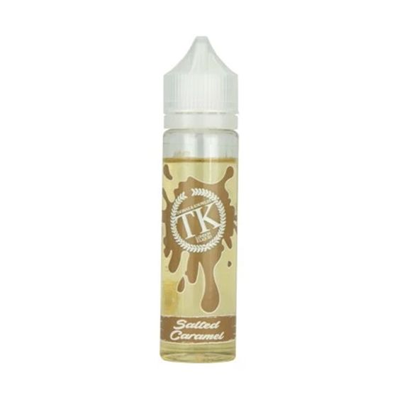 wholesale price Thomas & Knowles 50ml Shortfill Flavor: Salted Caramel | Strength: 0mg/ml