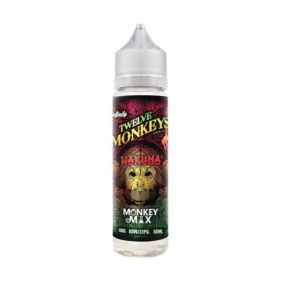 for wholesale Twelve Monkeys Classic Shortfill 50ml Flavor: Hakuna | Strength: 0mg/ml