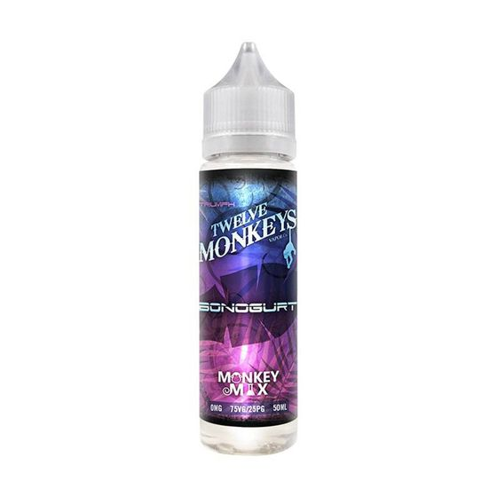 wholesale price Twelve Monkeys Classic Shortfill 50ml Flavor: Bonogurt | Strength: 0mg/ml